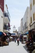 morocco street - stock photo
