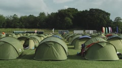 Camp Site.mp4 Stock Footage