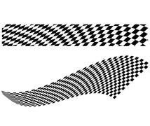 Vector checkerboard illustration Stock Illustration