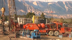 Drilling Rig Stock Footage