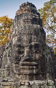 The victory gate, angkor thom, cambodia Stock Photos