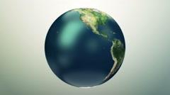 Rotating Globe Stock Footage