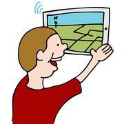 street map navigation - stock illustration