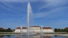 New palace schleissheim, bavaria, germany Stock Footage