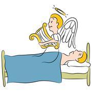 Stock Illustration of afterlife
