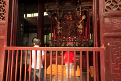 Lingyin Temple time lapse v3 4K 24 Stock Footage