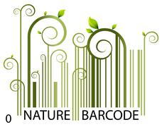 Stock Illustration of nature barcode