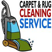 Carpet cleaning service Stock Illustration