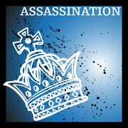 royal assassination - stock illustration