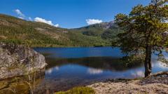 Scandinavian lake time-lapse 4K - stock footage
