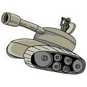 Military tank Stock Illustration