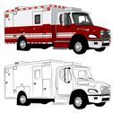Stock Illustration of paramedic vehicle