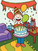 party time - stock illustration