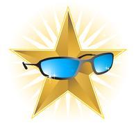 Celebrity shades Stock Illustration
