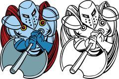 Knight axe Piirros
