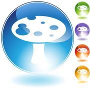 Stock Illustration of mushroom