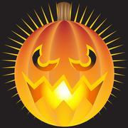 Evil pumpkin Piirros