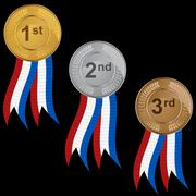Stock Illustration of prize medals