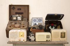 Antique technology Stock Photos