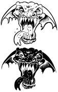 Ferocious beast Stock Illustration
