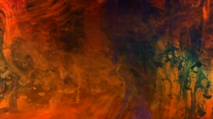 Multicolored clouds moving slowly, growing darker, abstract background Stock Footage