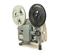 super 8mm film projector - stock photo