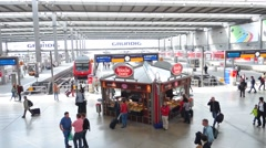 Munich, Train Station Stock Footage