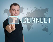 Connect Stock Illustration