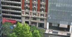 4K Manhattan Building Establishing Shot Stock Footage
