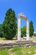 Ruins of Ancient Gymnasion, Kos, Greece Stock Photos