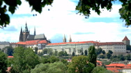Stock Video Footage of prague castle, czech republic,real time