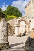Haghartsin Monastery in Armenia - stock photo
