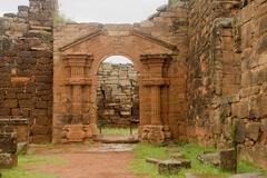 san ignacio mini ruins - stock photo