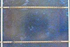 Close up solar cell Stock Photos