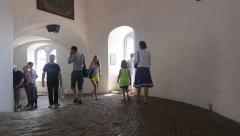Round Tower in Copenhagen 2 Stock Footage