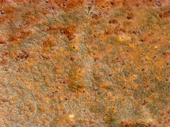 Rusty iron bar Stock Photos