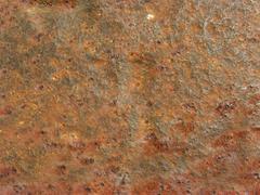 rusty iron bar - stock photo