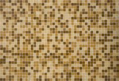 small wall tiles - stock photo