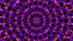 abstract loop motion background, kaleidoscope light - stock footage