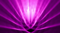 Sedate abstract looping background rays elegant shimmering purple alt reverse - stock footage