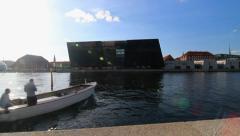 Royal Library in Copenhagen 3 Stock Footage