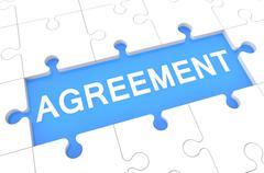 agreement - stock illustration