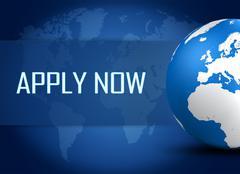 apply now - stock illustration