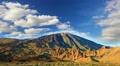 Mountains  landscape. Teide volcano, Tenerife, Canary islands, Spain, time-lapse HD Footage