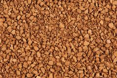granules of instant coffee background - stock photo