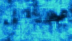 Blue line animated background Stock Footage