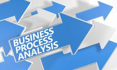 Business process analysis Stock Illustration