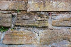 Natural Stone Wall Texture - stock photo