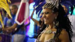 SAMBA CARNAVAL 2014 BANDA BRASIL BRAZIL Stock Footage