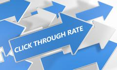 Click through rate Stock Illustration